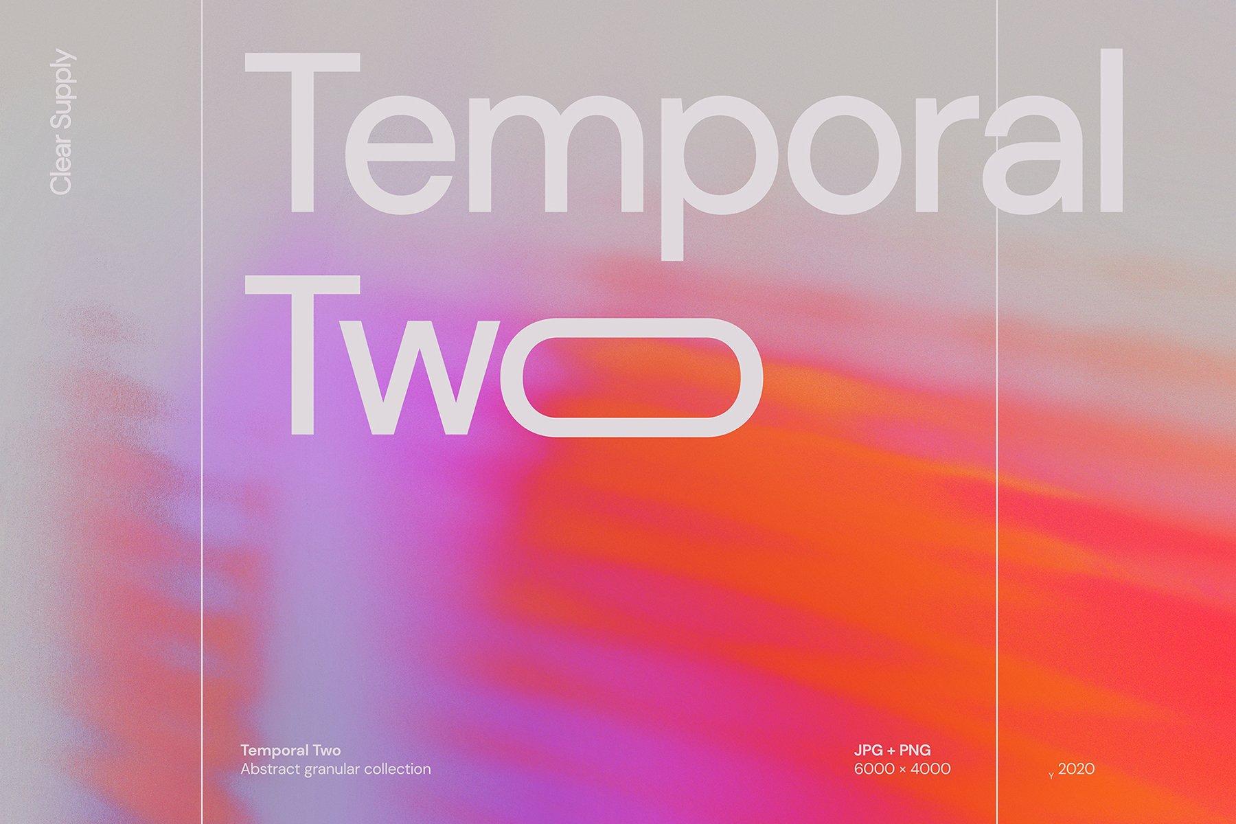 14款高清炫彩抽象艺术动感模糊渐变海报背景图片素材 Clear Supply – Temporal Two插图