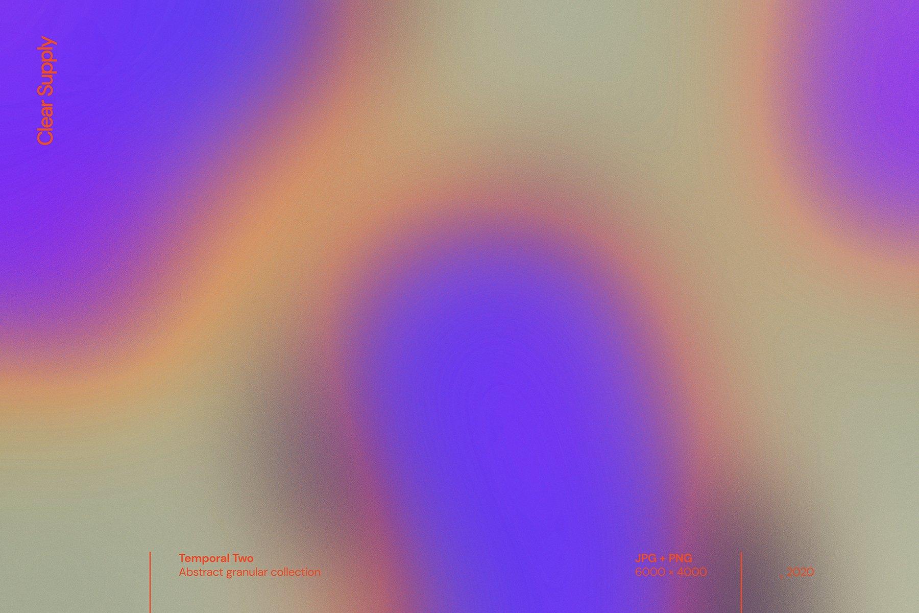 14款高清炫彩抽象艺术动感模糊渐变海报背景图片素材 Clear Supply – Temporal Two插图1