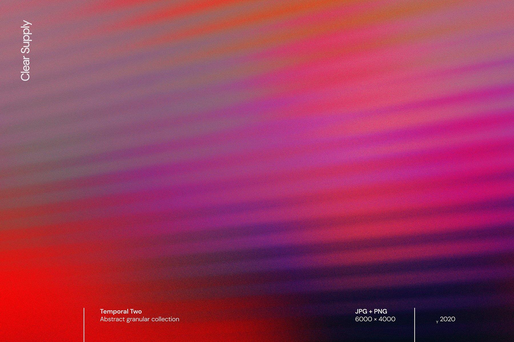 14款高清炫彩抽象艺术动感模糊渐变海报背景图片素材 Clear Supply – Temporal Two插图3