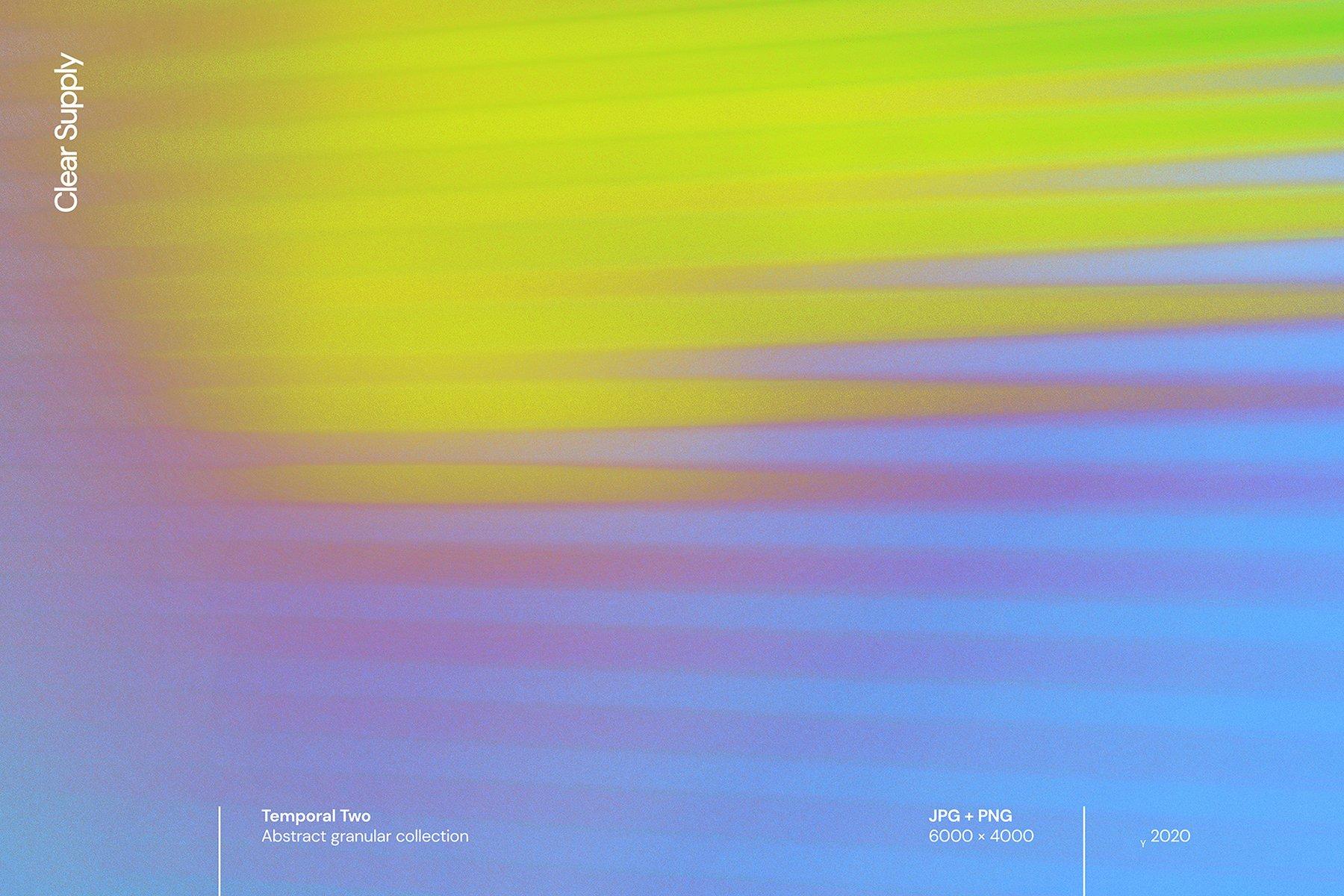 14款高清炫彩抽象艺术动感模糊渐变海报背景图片素材 Clear Supply – Temporal Two插图7
