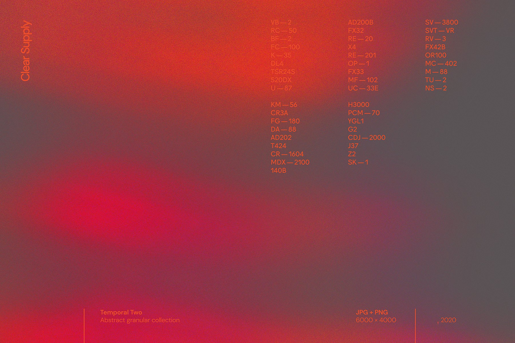14款高清炫彩抽象艺术动感模糊渐变海报背景图片素材 Clear Supply – Temporal Two插图8