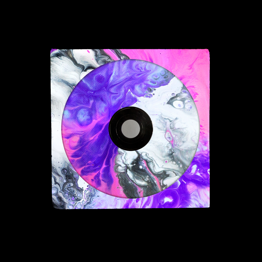 潮流复古CD光盘包装纸袋设计展示样机模板 CD Sleeve Mockup插图