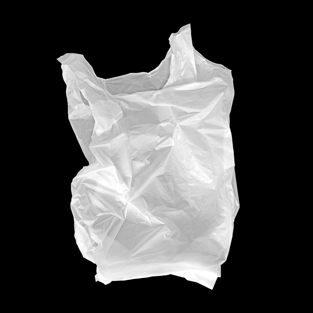 潮流超市购物塑料袋设计展示样机模板 Plastic Bag Mockup插图(1)