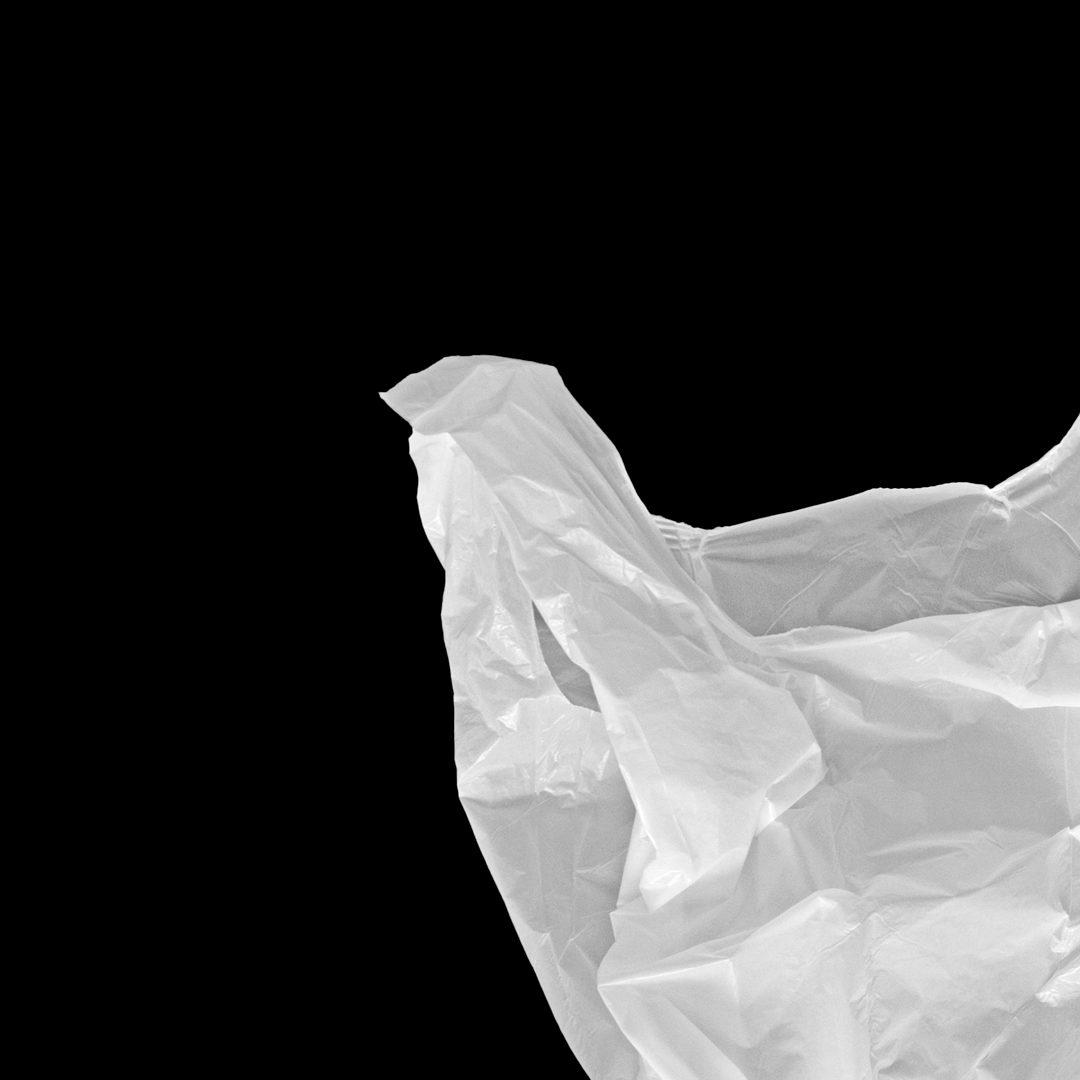 潮流超市购物塑料袋设计展示样机模板 Plastic Bag Mockup插图(2)
