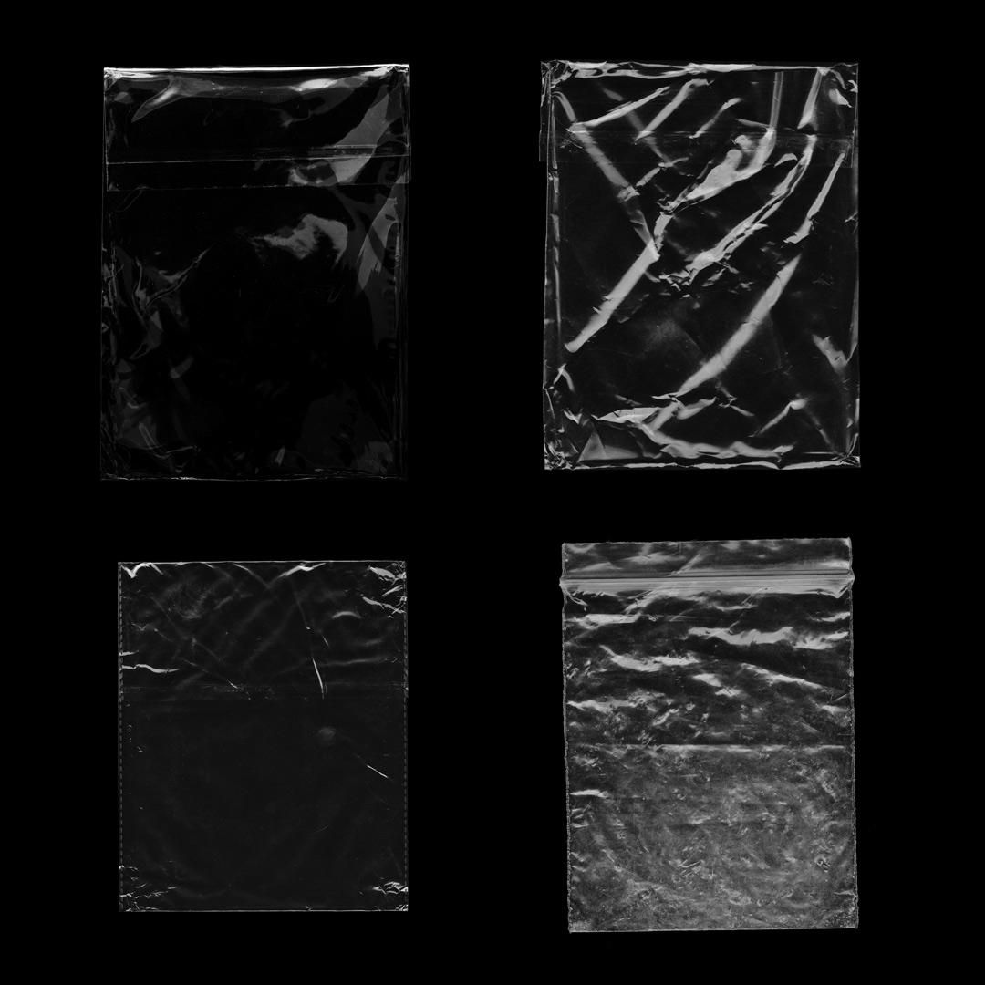 4款高清复古塑料袋平面广告设计背景PNG免抠图片素材 Plastic Bag Samples插图(1)