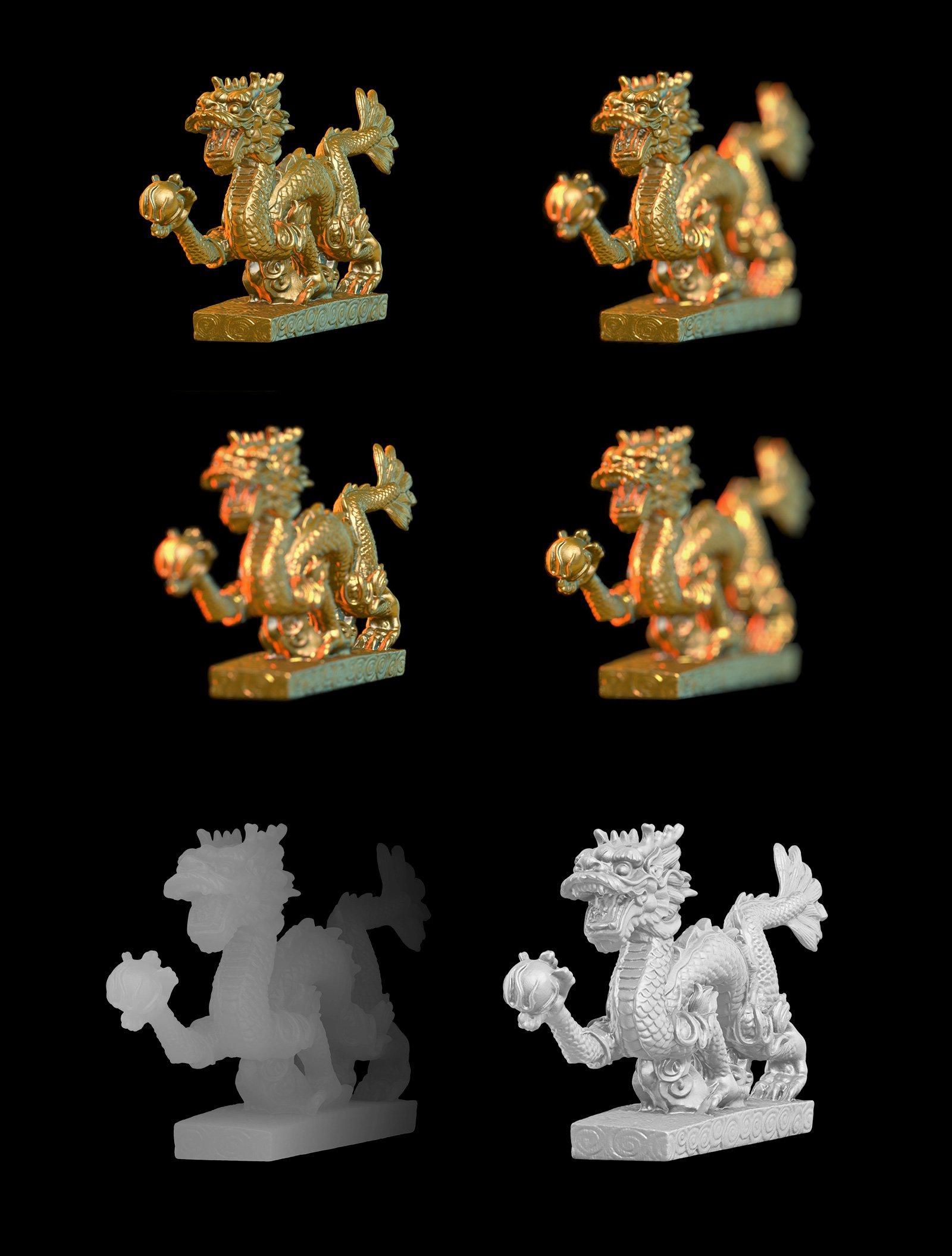 [淘宝购买] 343款复古蒸汽波艺术人物动物石膏雕像模型PS素材源文件 343 Sculptures Mockup插图(4)