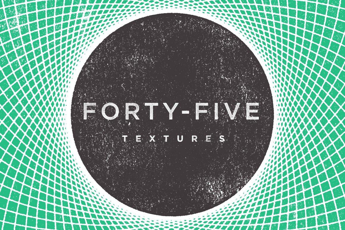 45款几何形状矢量背景图设计素材 Rulebyart – Geometric Vector Textures插图1