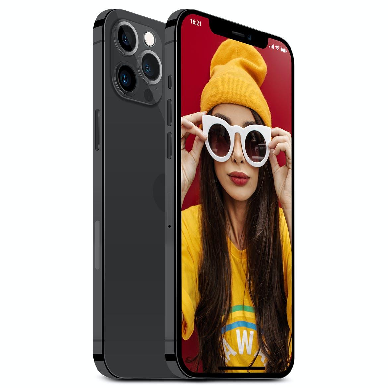 2020新款苹果手机iPhone 12 Pro屏幕演示样机模板 iPhone 12 Pro Layered PSD Mockups插图3