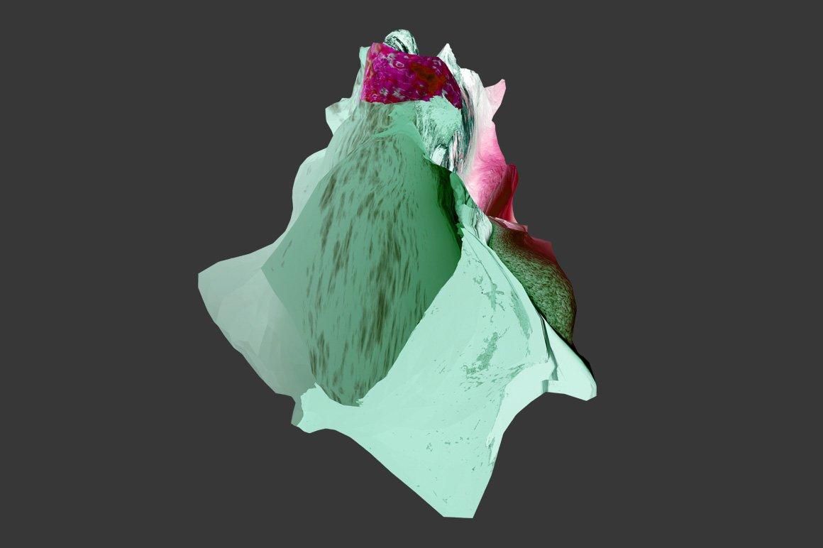 [淘宝购买] 30款抽象高清扭曲3D渲染立体图形背景纹理图片设计素材 Rulebyart – Escape插图4