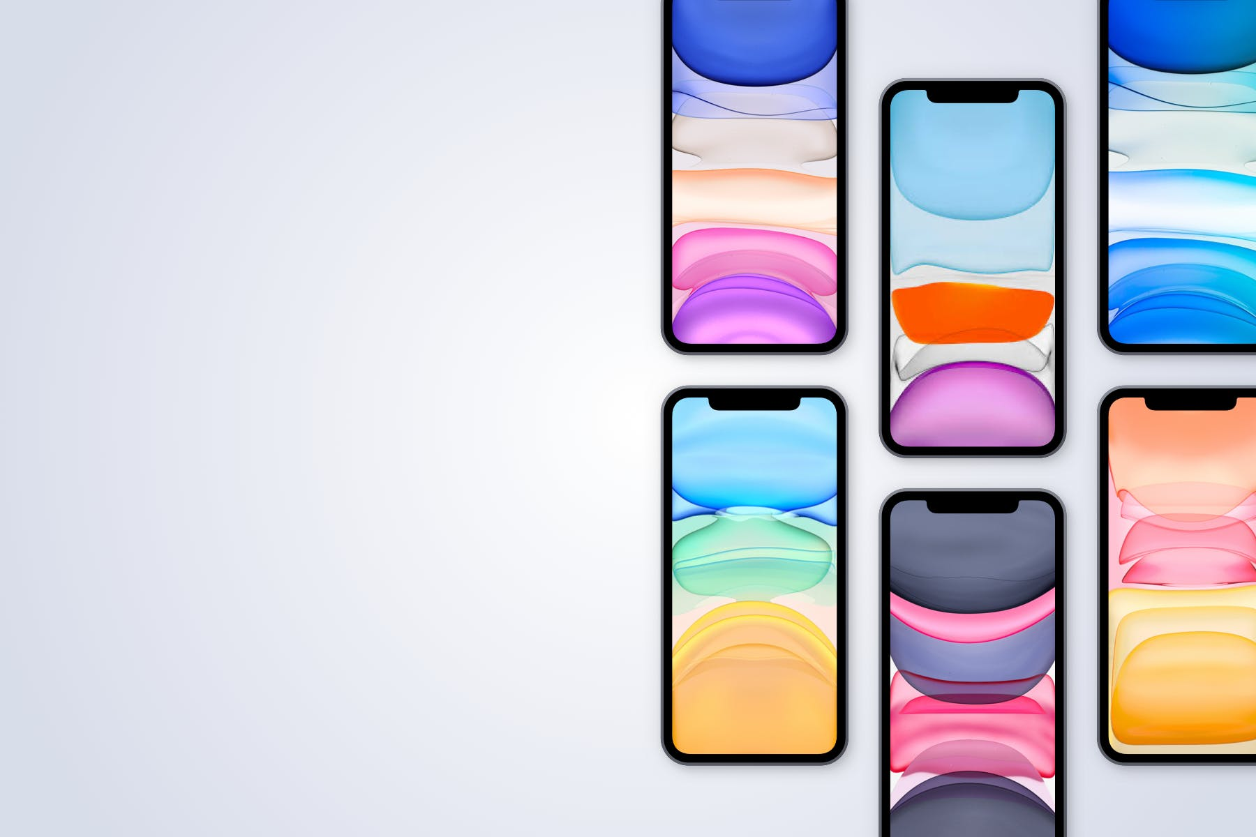 逼真苹果手机iPhone 12 Pro屏幕演示样机Sketch模板素材 iPhone 12 Pro – Sketch Mockup – 4 Different Scenes插图4