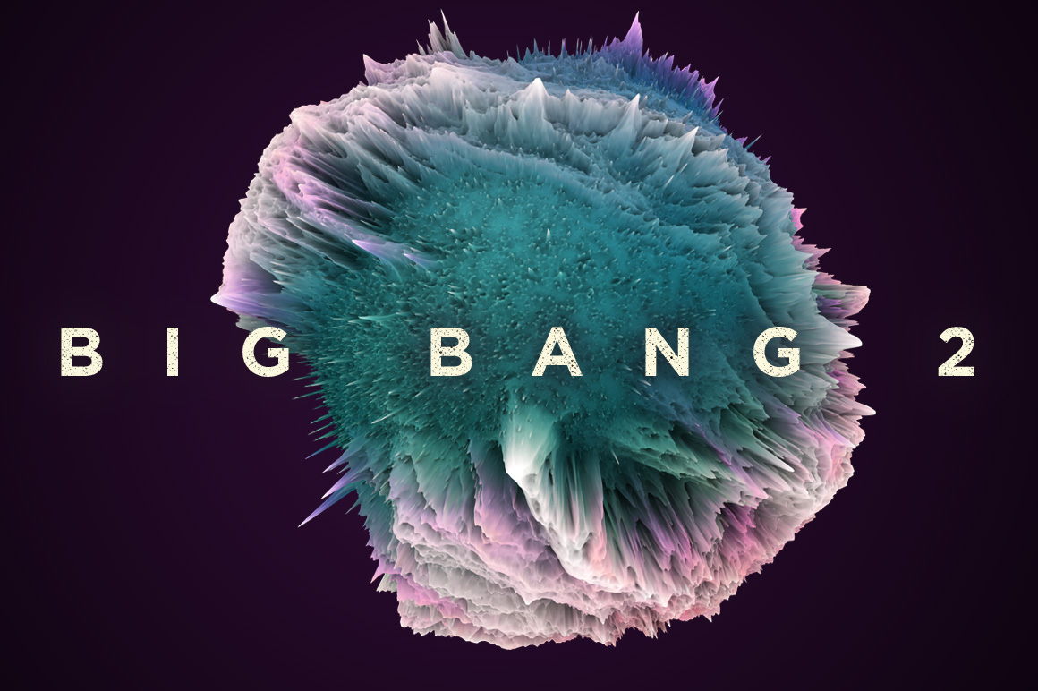 [淘宝购买] 25款潮流抽象炫酷爆炸3D渲染球体星球背景纹理PS设计素材 Rulebyart – Big Bang 2插图5