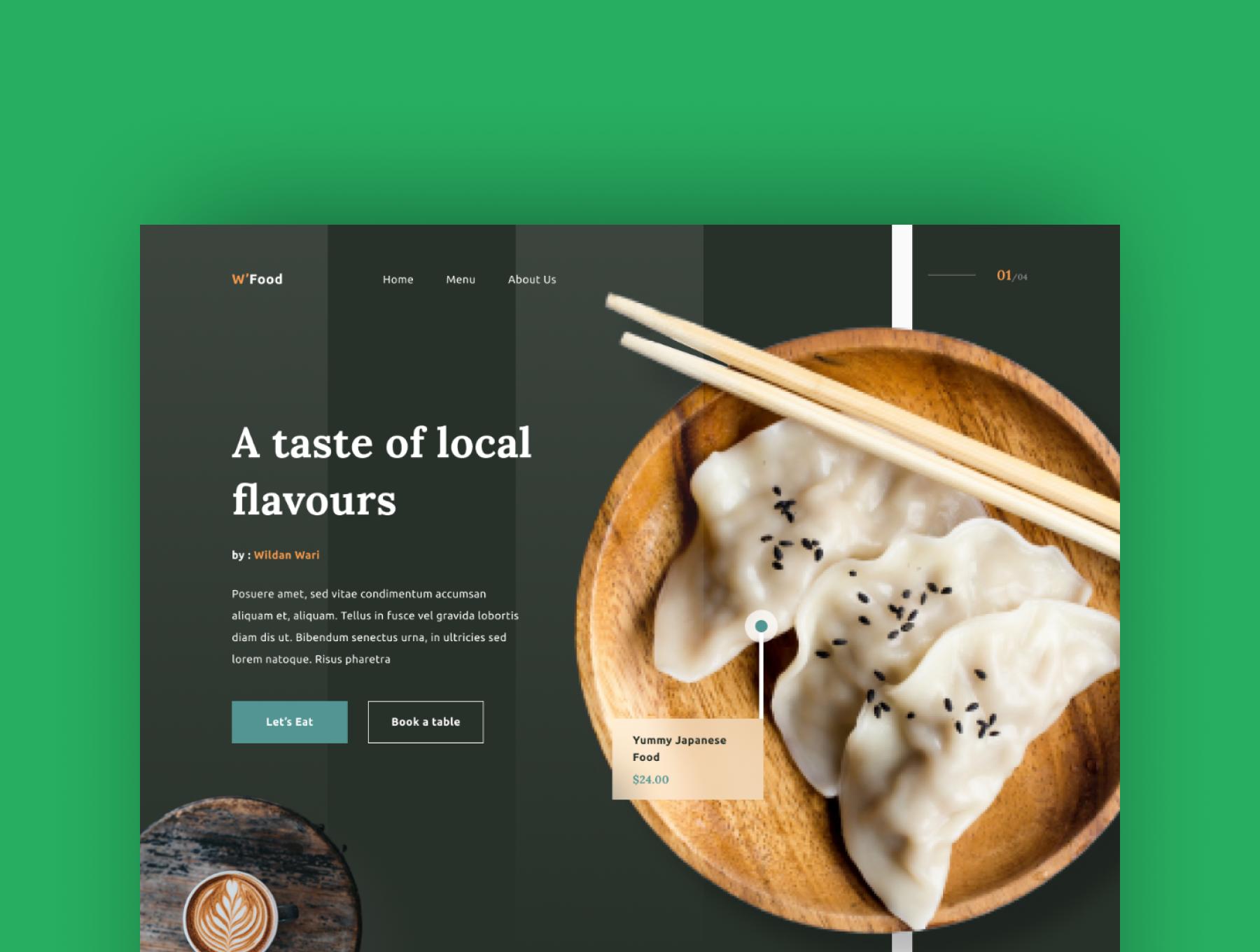 现代简约着陆页WEB界面设计UI套件素材 Wiloa 2.0 – Landing Page UI-Kit插图1