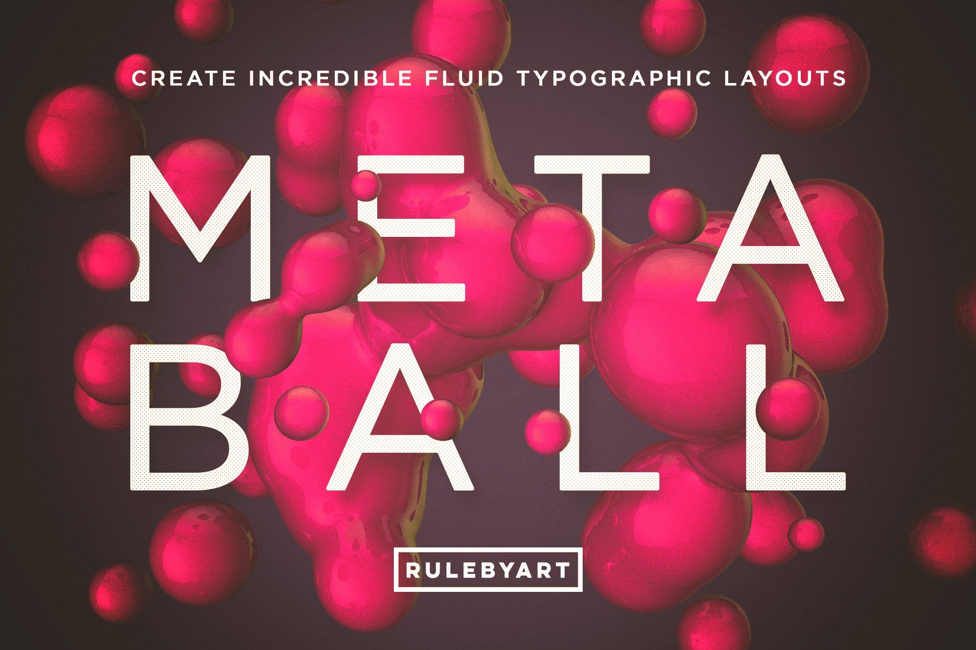 102个高清球体细胞水滴PNG免抠图片设计素材 Rulebyart – Metaball插图