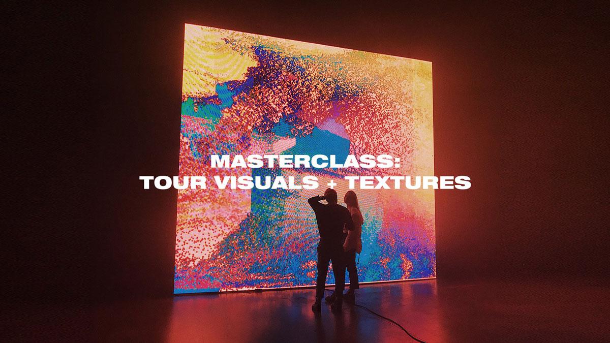 [淘宝购买] 潮流炫酷演唱会巡回演出视觉效果视频教学设计模板素材 Ezra Cohen – Masterclass Tour Visuals & Textures插图
