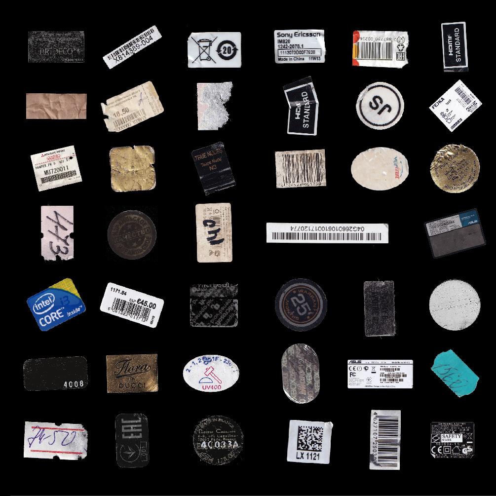 [淘宝购买] 124款潮流复古做旧撕裂标签贴纸PNG透明底图片设计素材 VSSSART – Sticker Pack V1.0插图6