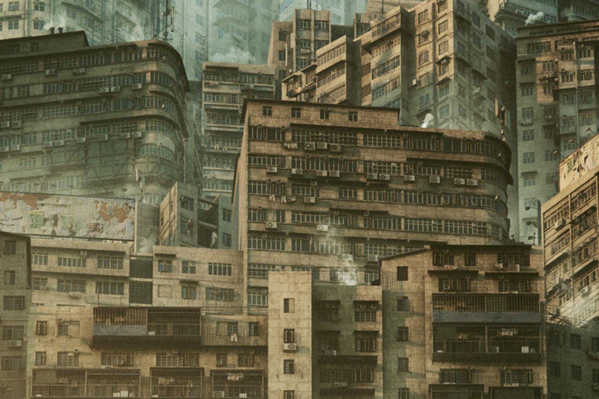 科幻电影都市贫民窟建筑设计3D模型素材 Kitbash3D – Future Slums插图