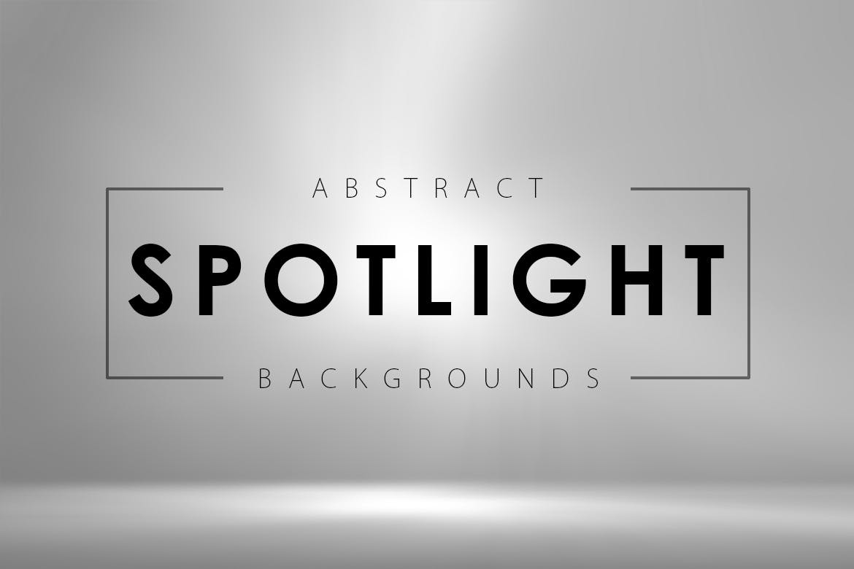 6款聚光空间背景图片素材 Abstract Spotlight Backgrounds插图