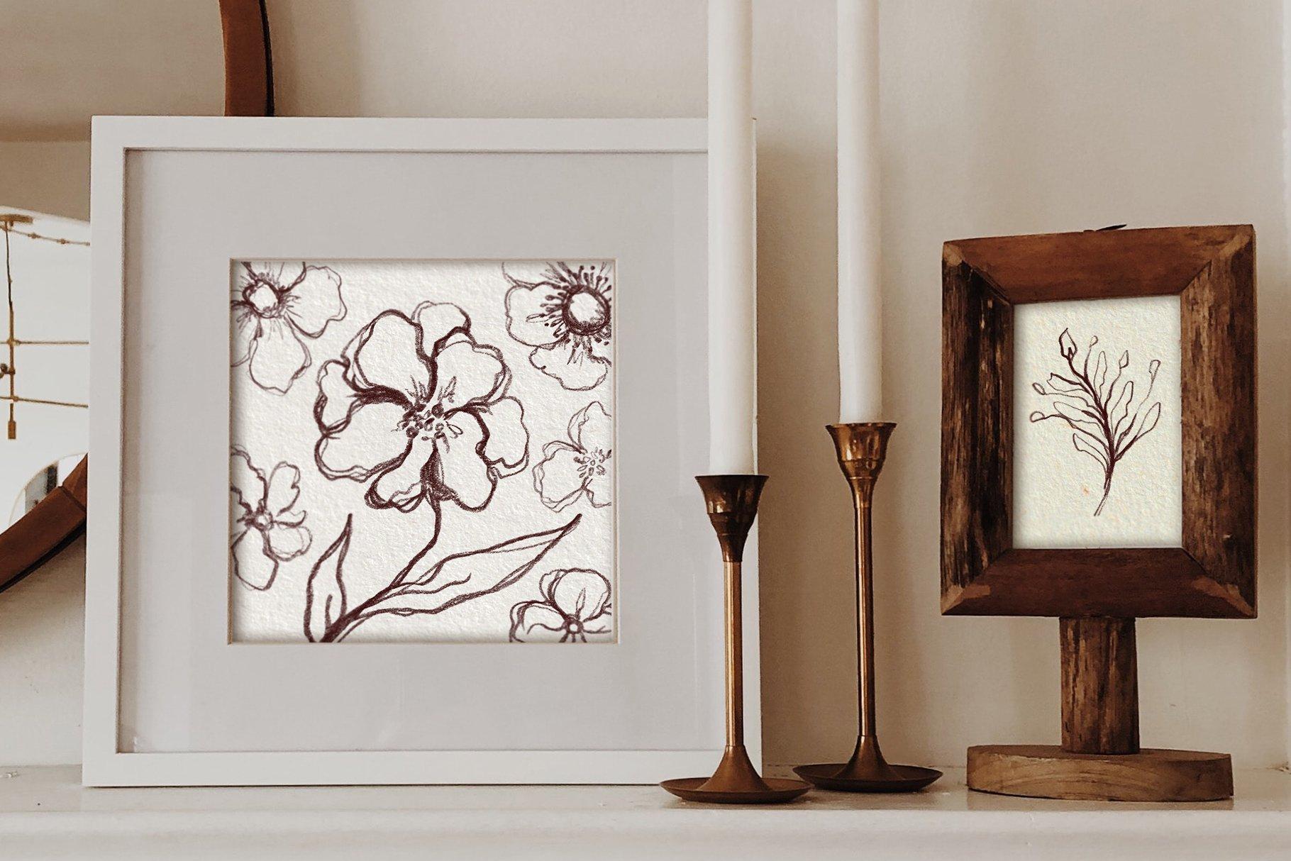 30款复古牛皮纸纸质纹理印刷品设计背景图片素材 Watercolor Paper Texture Collection插图13
