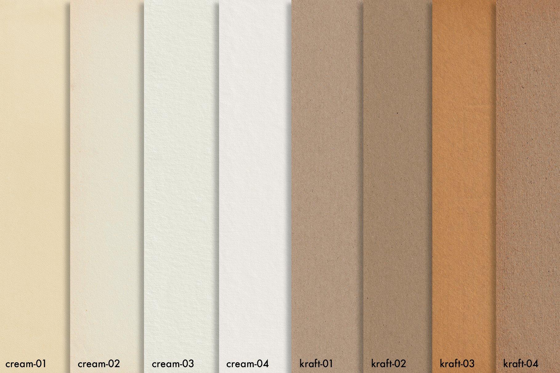 30款复古牛皮纸纸质纹理印刷品设计背景图片素材 Watercolor Paper Texture Collection插图16