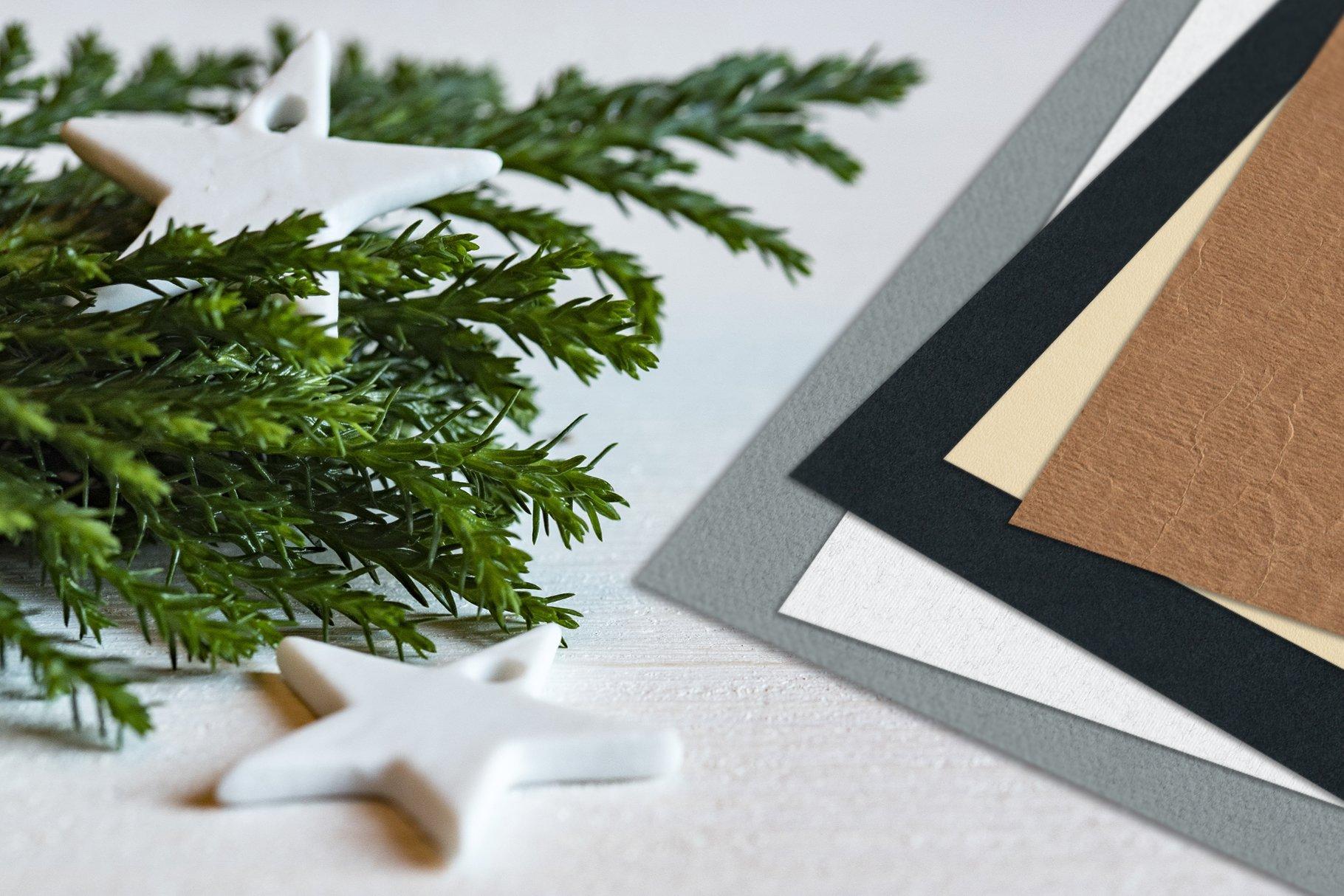 30款复古牛皮纸纸质纹理印刷品设计背景图片素材 Watercolor Paper Texture Collection插图5