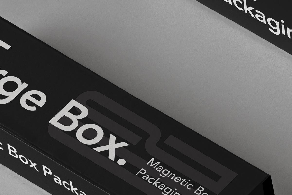 奢华带磁性产品包装盒设计PSD样机合集 Magnetic Psd Box Packaging Mockup Set 2插图2