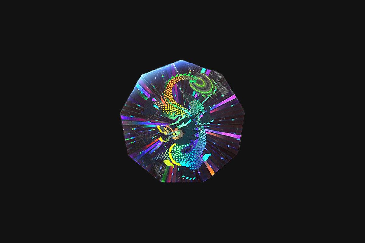 [淘宝购买] 37款潮流全息渐变不干胶标签贴纸PNG免抠图片设计素材 Pluto Dripz – Authentic Ii (Hologram Pack)插图3