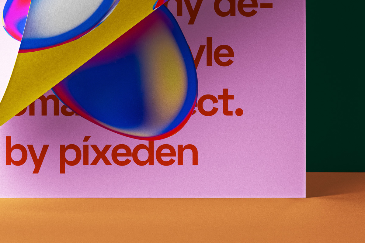 折叠海报传单设计展示贴图PSD样机模板 Folded Letter Psd Paper Mockup插图4