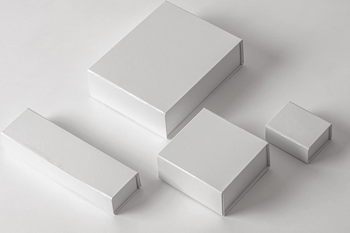 奢华带磁性产品包装盒设计PSD样机合集 Magnetic Psd Box Packaging Mockup Set 2插图5