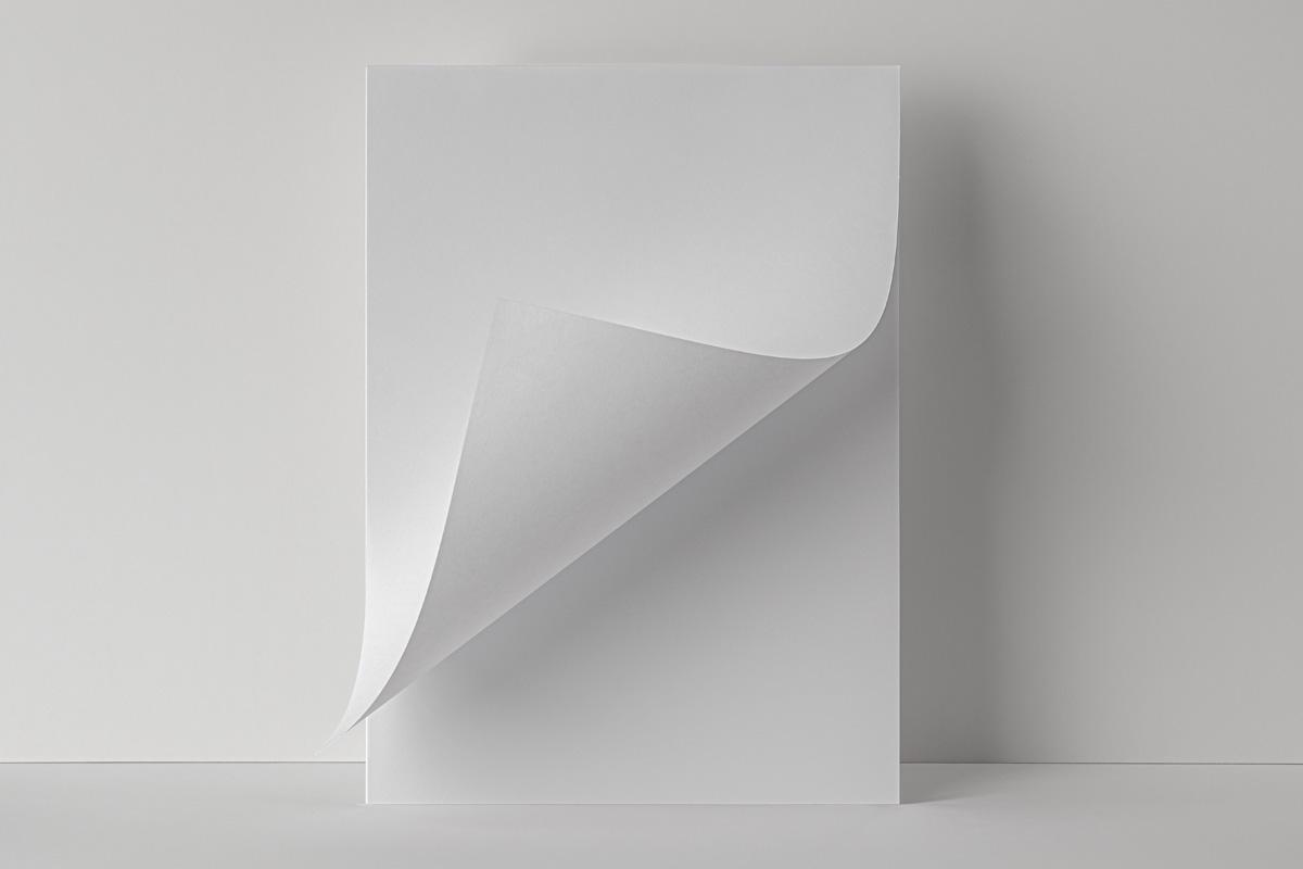 折叠海报传单设计展示贴图PSD样机模板 Folded Letter Psd Paper Mockup插图5