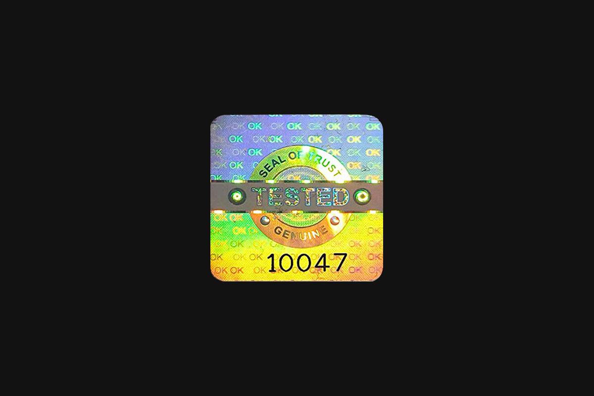 [淘宝购买] 37款潮流全息渐变不干胶标签贴纸PNG免抠图片设计素材 Pluto Dripz – Authentic Ii (Hologram Pack)插图7