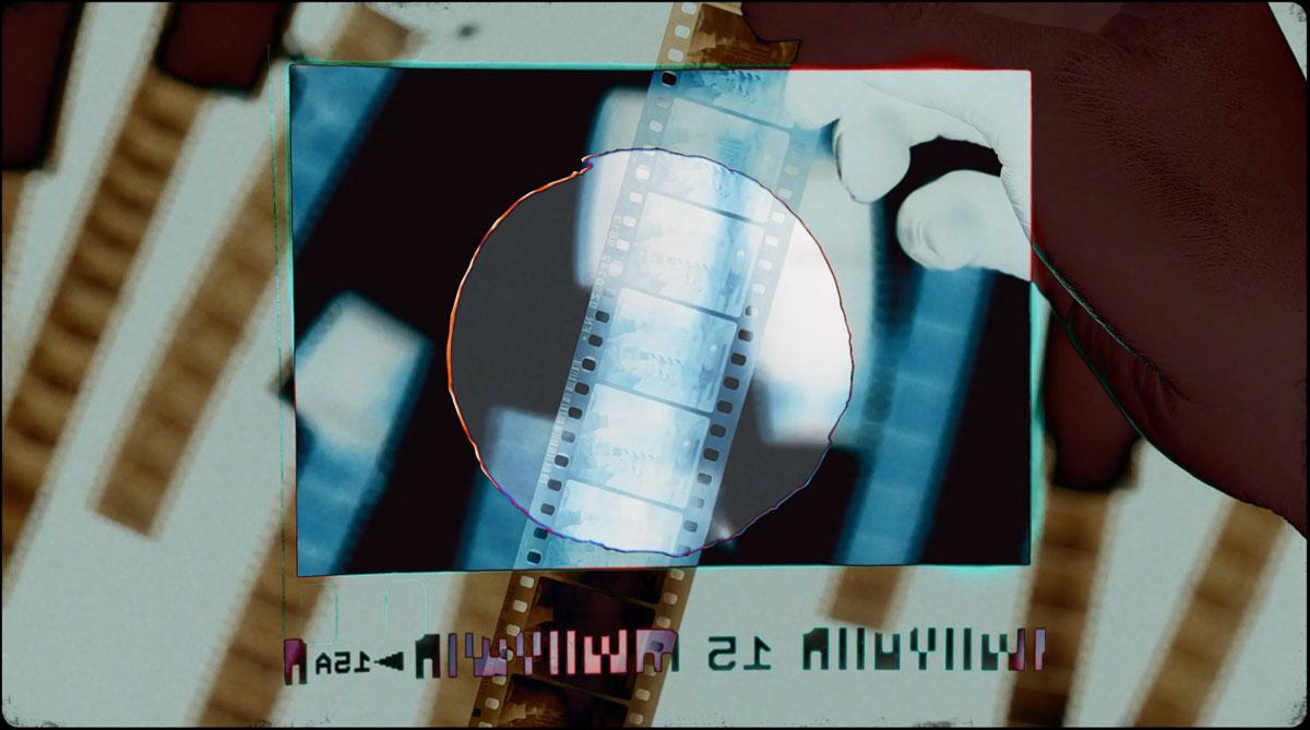 [淘宝购买] 30多款潮流复古故障胶卷打孔纹理叠加过渡效果MOV视频模板素材 AcidBite – Punch Hole Transitions插图1