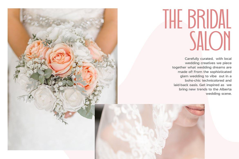 婚礼主题请柬标题Logo设计无衬线英文字体素材 Wedding Font Pairing插图3