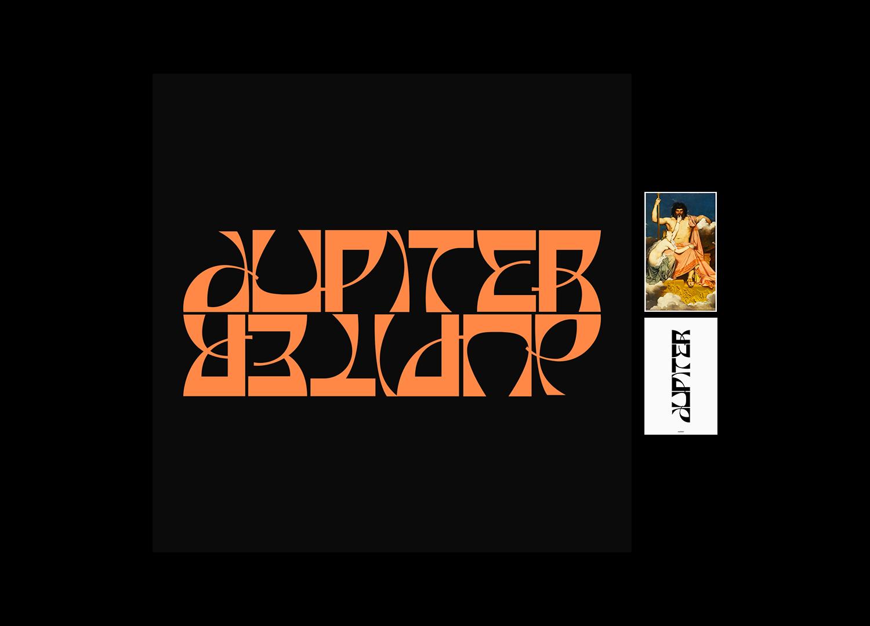 时尚潮流弯曲杂志海报标题徽标Logo文字设计无衬线英文字体 Basylisk Typeface插图5