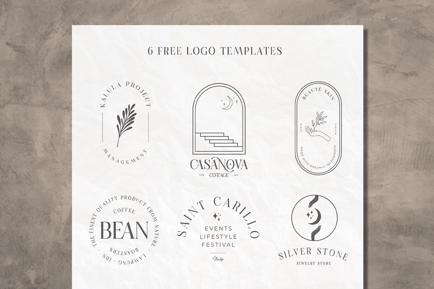 现代时尚连字海报标题徽标Logo设计衬线英文字体素材 Casanova Serif Display Font插图5