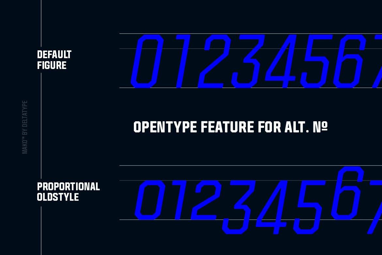 现代时尚科幻未来海报标题Logo无衬线英文字体素材 Mako (Elements Edition)插图5