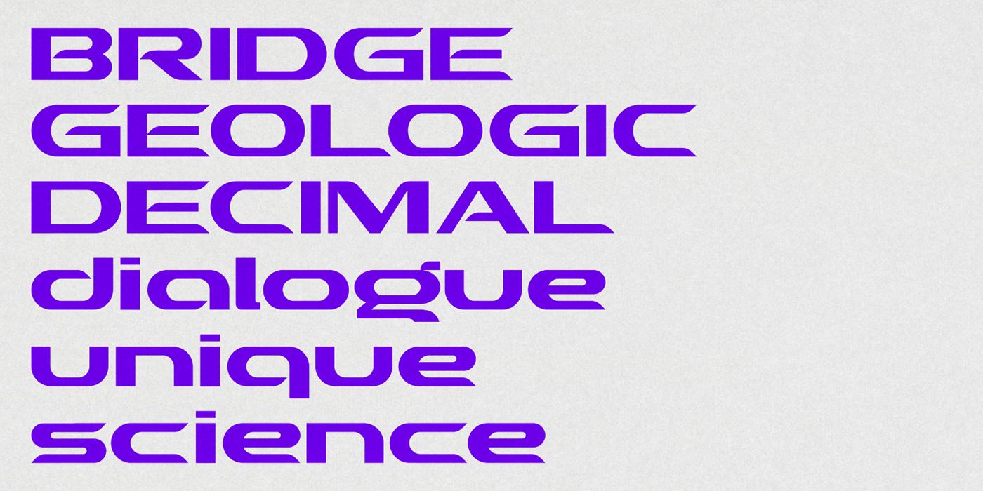 现代时尚未来派标题徽标Logo文字设计无衬线英文字体素材 Crenzo – Sans Serif Font插图5