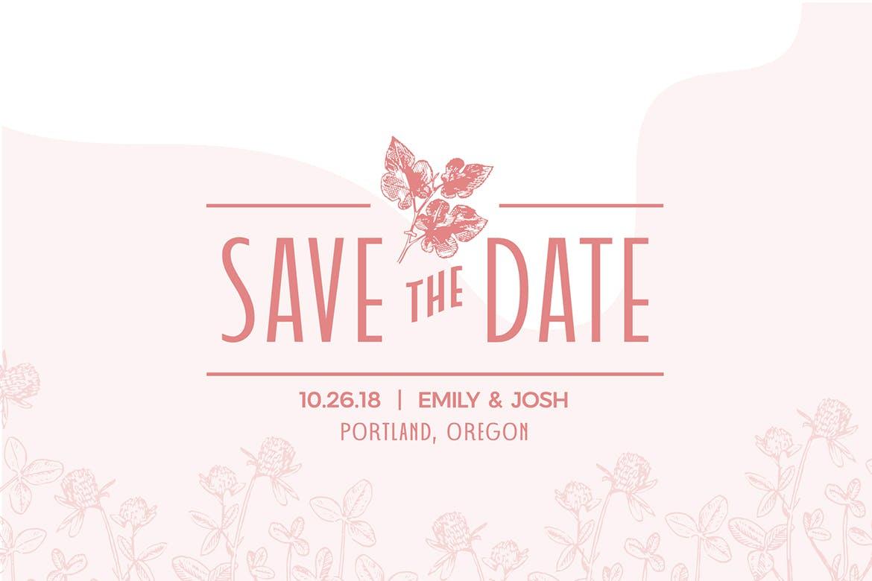 婚礼主题请柬标题Logo设计无衬线英文字体素材 Wedding Font Pairing插图6