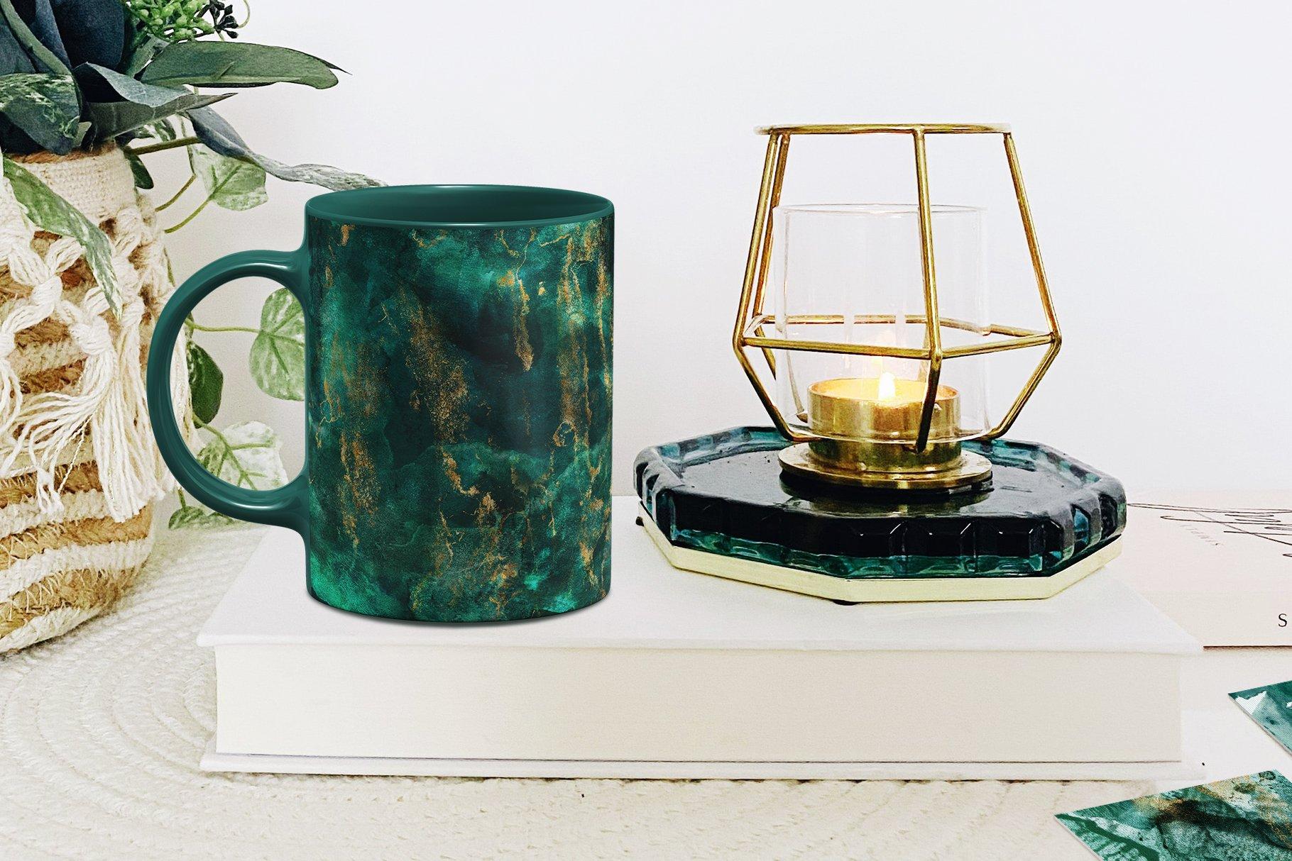 30款奢华翡翠墨绿流金水彩抽象艺术装饰背景底纹图片素材 Seamless Watercolor Backgrounds插图9