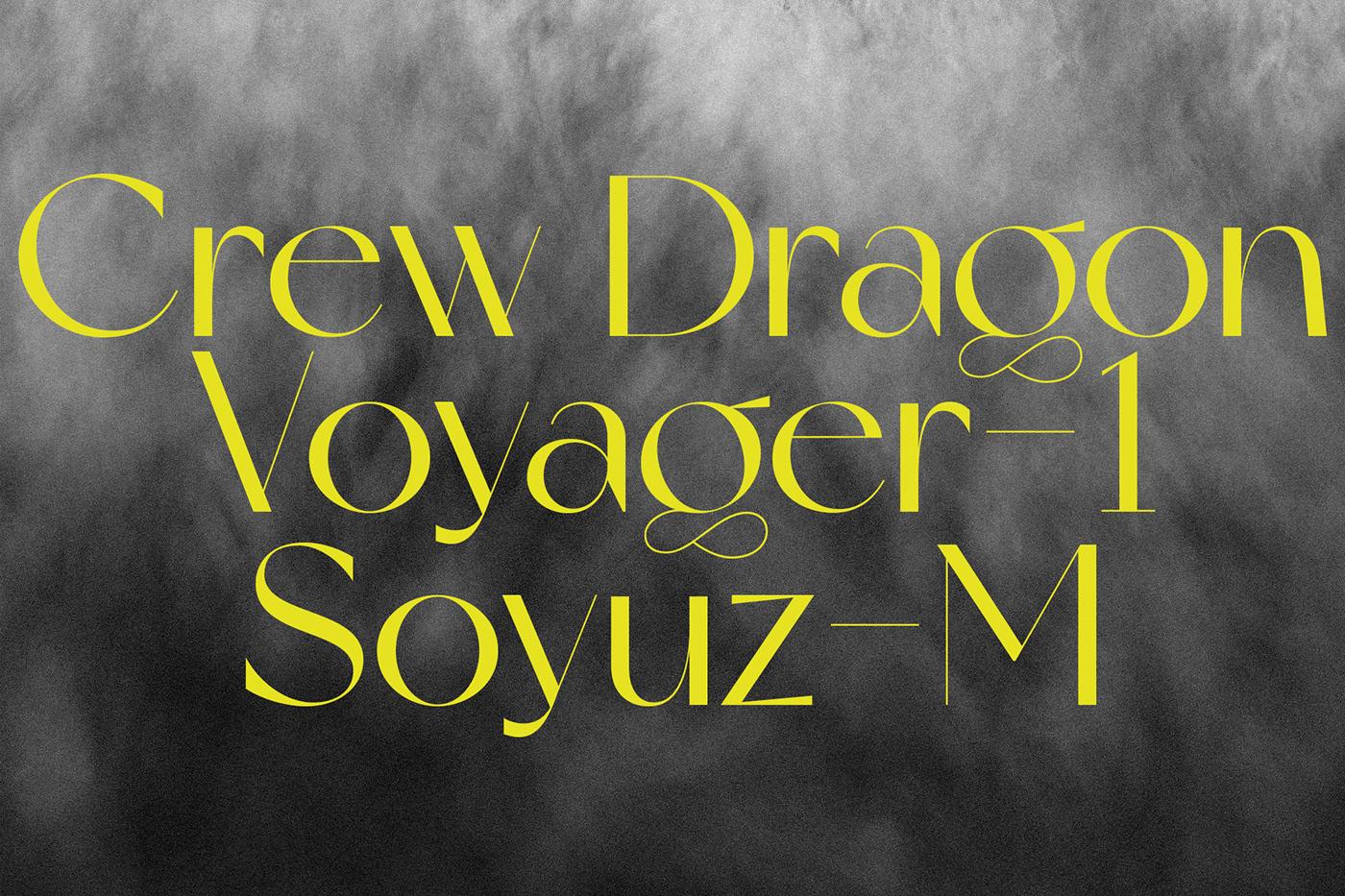 现代时尚杂志标题徽标Logo设计无衬线英文字体素材 Miracle Typeface插图10