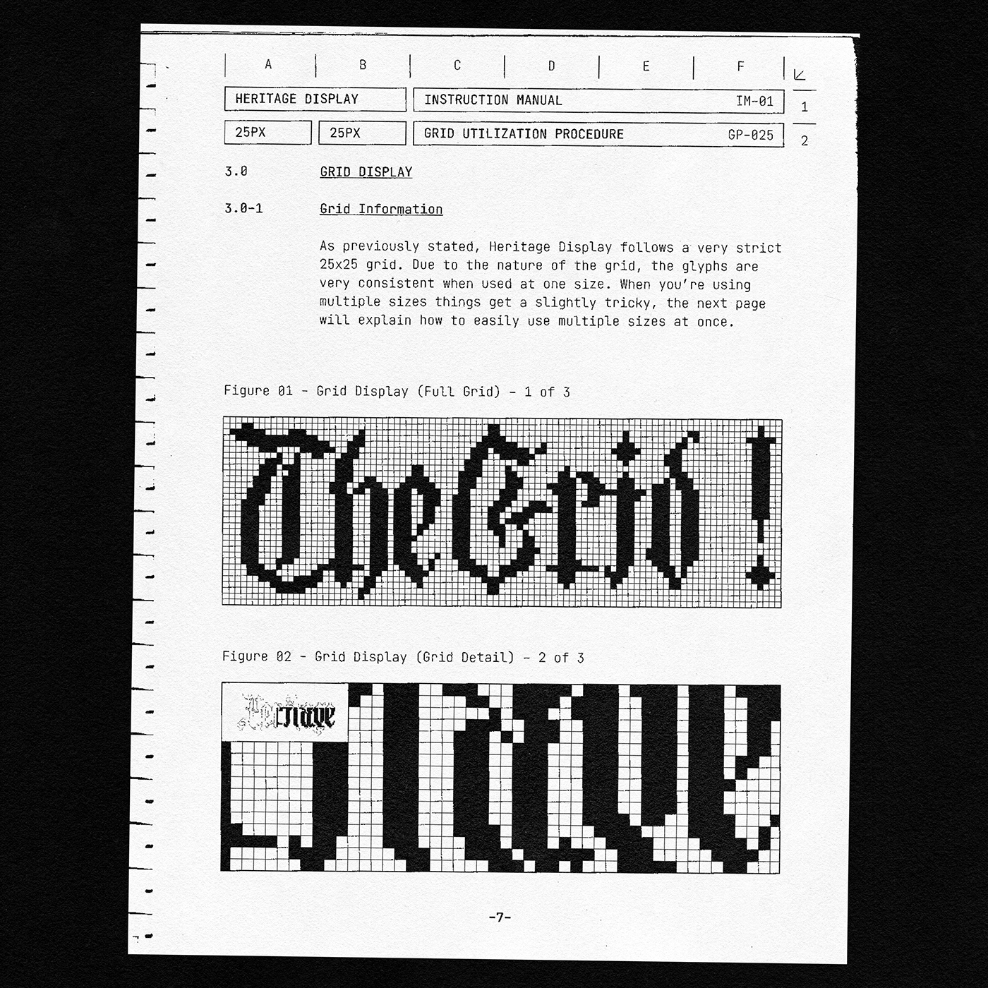 [淘宝购买] 潮流复古像素CRT显示海报标题徽标Logo设计装饰字体素材 Heritage Display Pixel Blackletter插图9