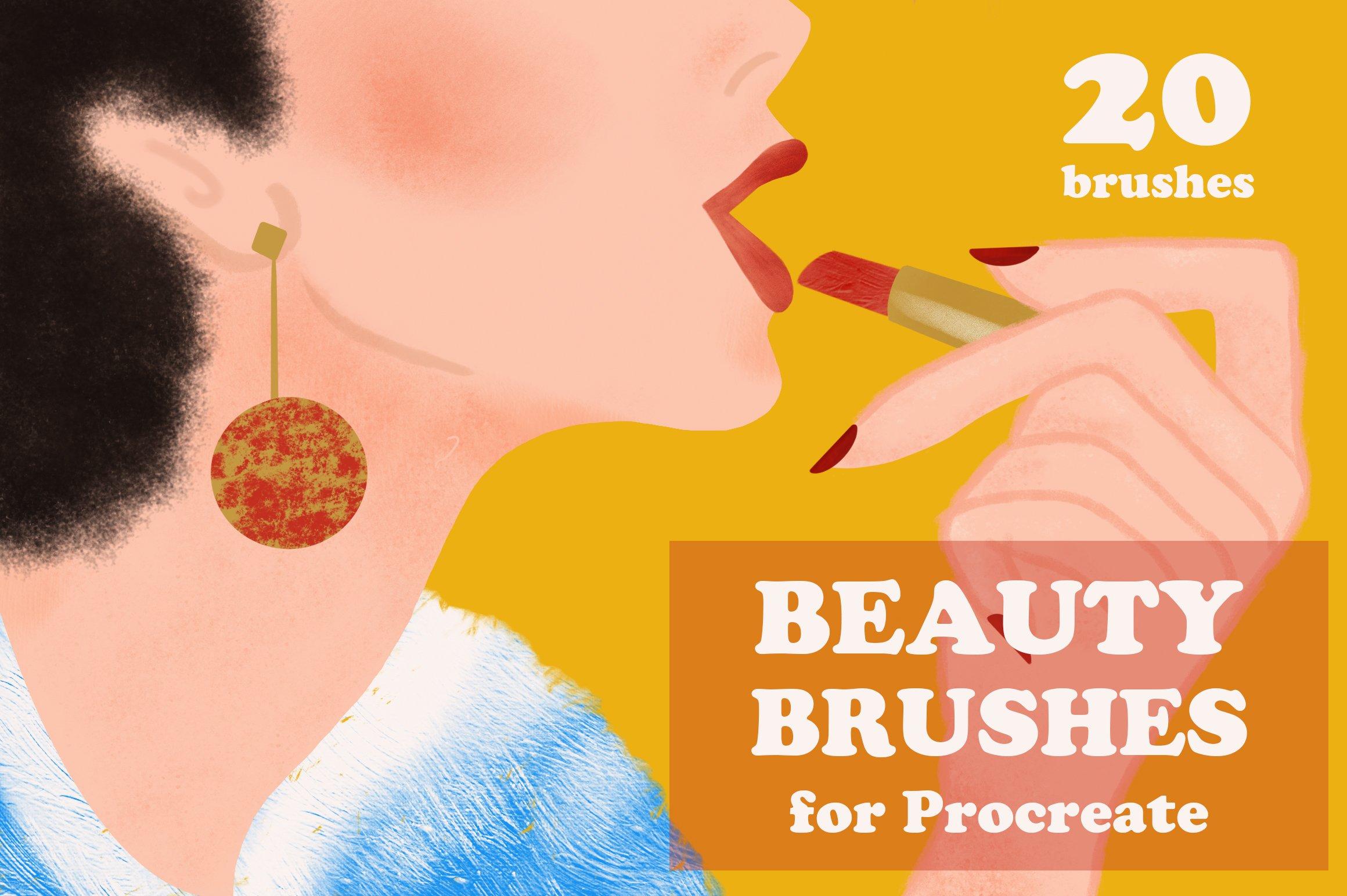 15套逼真铅笔蜡笔Procreate笔刷纹理着色器素材套装 Procreate Brushes Megabundle插图9