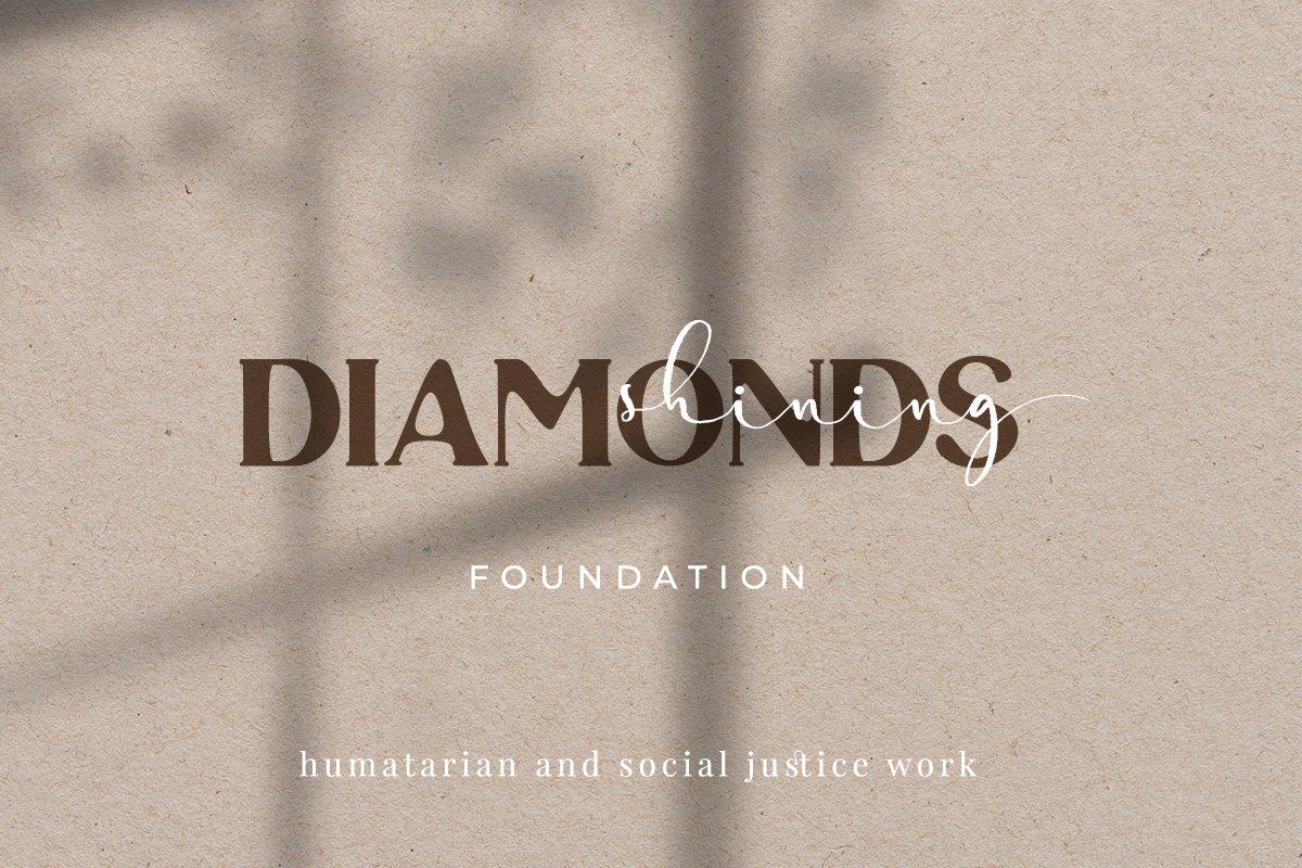 现代优雅画册海报标题Logo设计衬线手写签名字体素材 Harley Quince Elegant Font Duo插图11