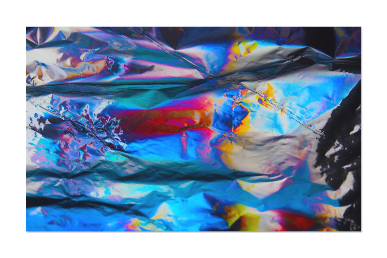 [淘宝购买] 80款潮流全息渐变虹彩金属箔纸纹理海报设计背景图片素材 Crumbled – 80 Foil Textures插图8