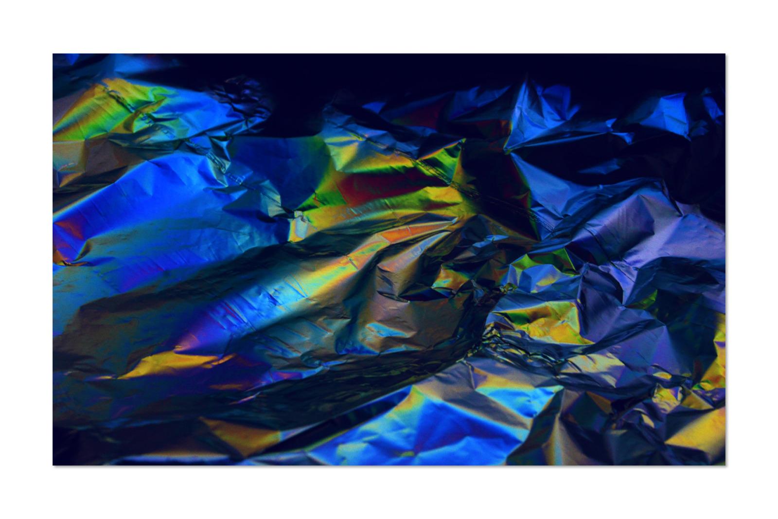 [淘宝购买] 80款潮流全息渐变虹彩金属箔纸纹理海报设计背景图片素材 Crumbled – 80 Foil Textures插图12