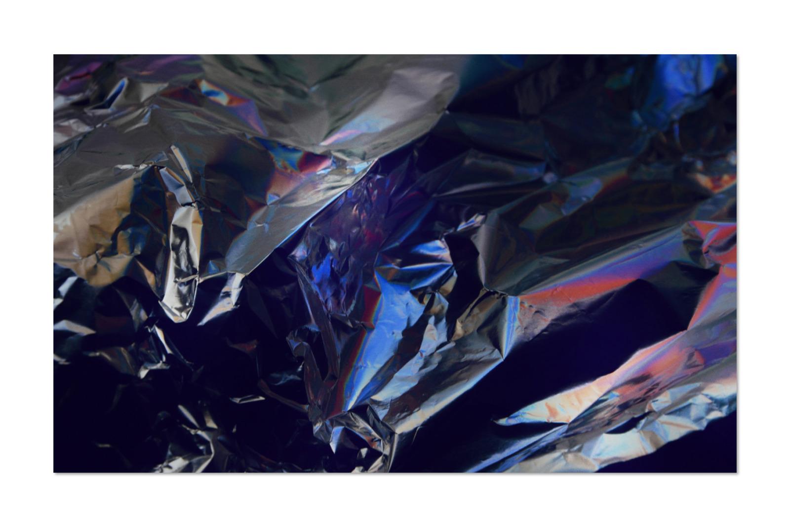 [淘宝购买] 80款潮流全息渐变虹彩金属箔纸纹理海报设计背景图片素材 Crumbled – 80 Foil Textures插图17