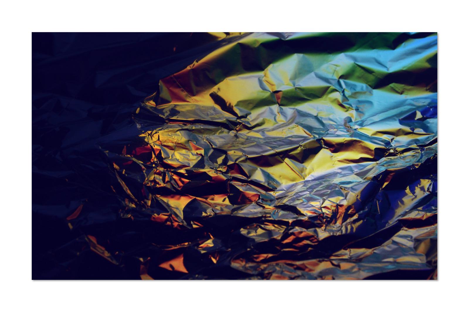 [淘宝购买] 80款潮流全息渐变虹彩金属箔纸纹理海报设计背景图片素材 Crumbled – 80 Foil Textures插图19