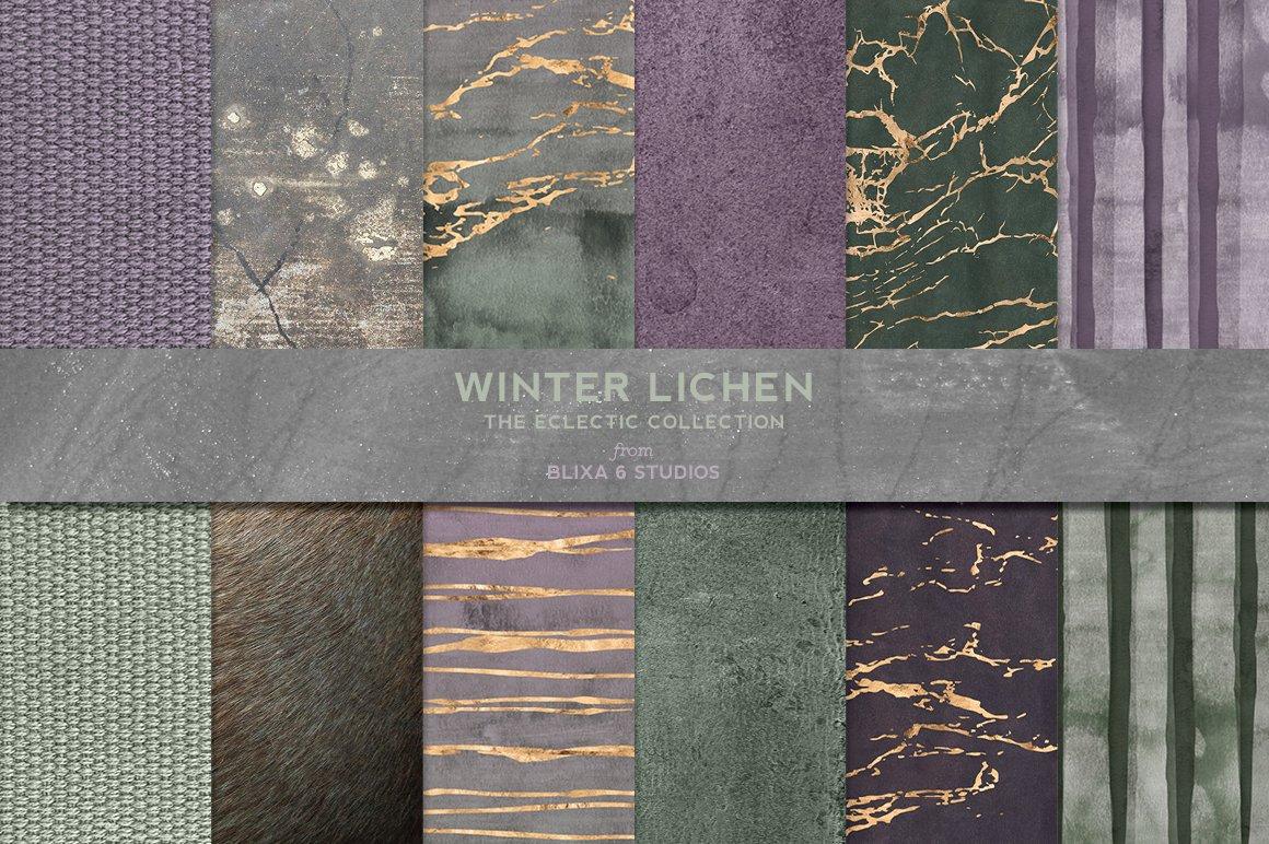 168款时尚优雅抽象玫瑰金大理石纹理背景图片设计素材套装 168 Abstract Textures & Patterns插图12