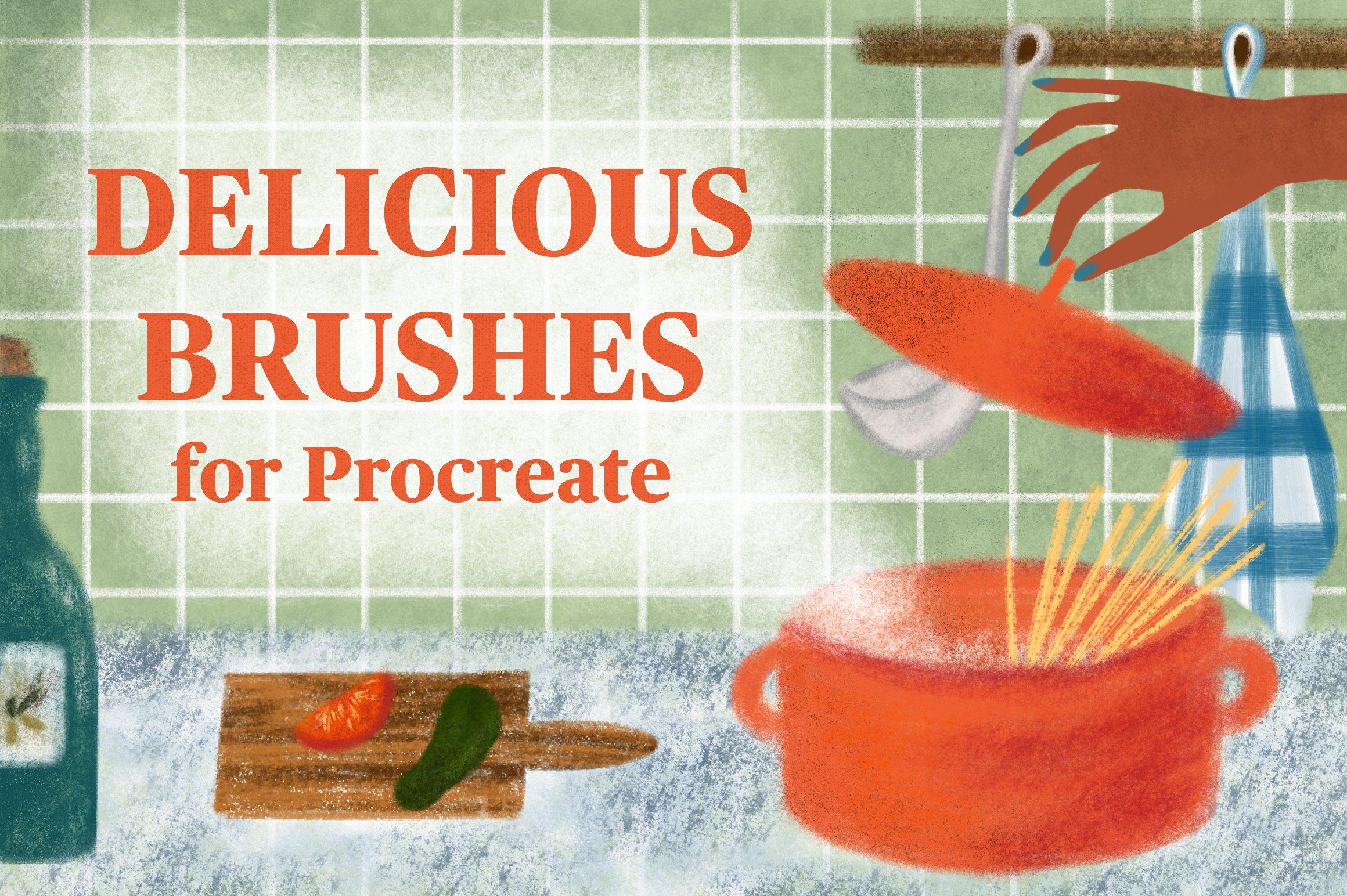 15套逼真铅笔蜡笔Procreate笔刷纹理着色器素材套装 Procreate Brushes Megabundle插图12