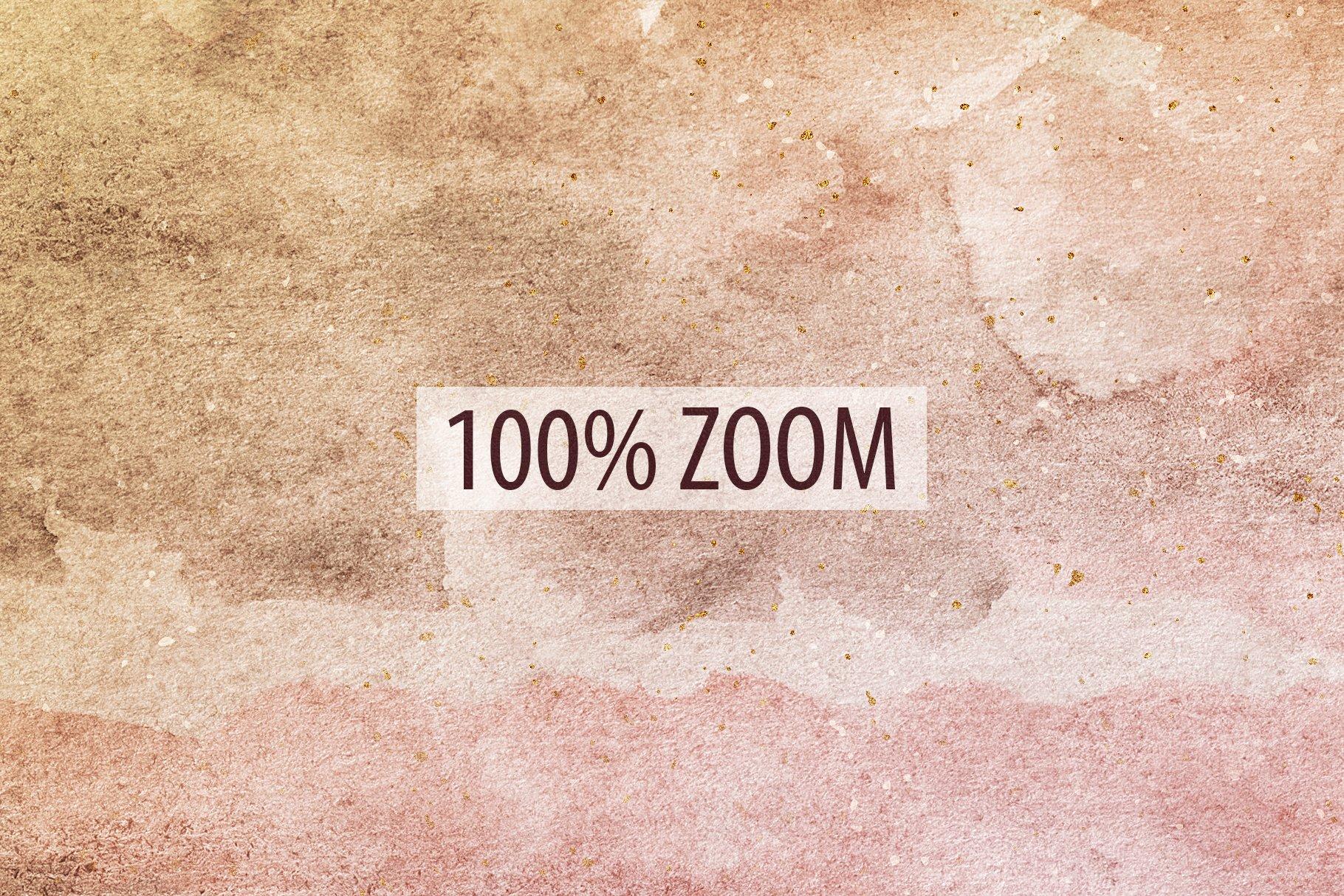 [单独购买] 20款抽象奢华橙色水彩纹理海报设计背景图片素材 20 Seamless Watercolor Textures插图16