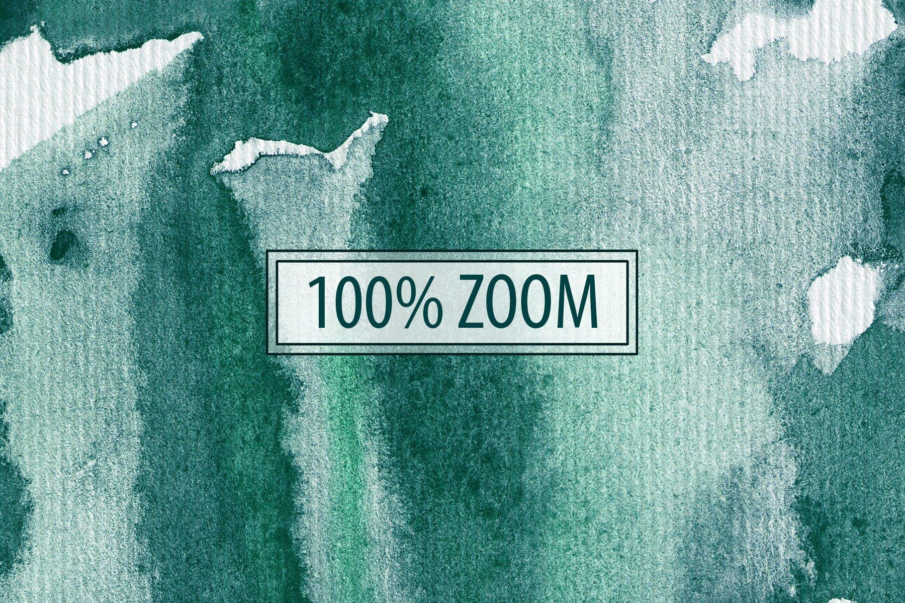 30款奢华翡翠墨绿流金水彩抽象艺术装饰背景底纹图片素材 Seamless Watercolor Backgrounds插图16